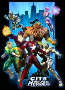 city of heroes mmorpg image