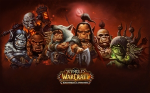 wow expansion art warlords of Draenor