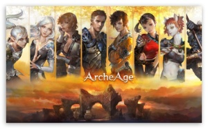 archeage mmorpg character designs