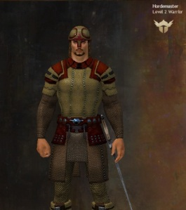 my GW Avatar in game